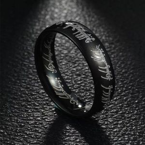 Other - Black Lord of the Ring Rings